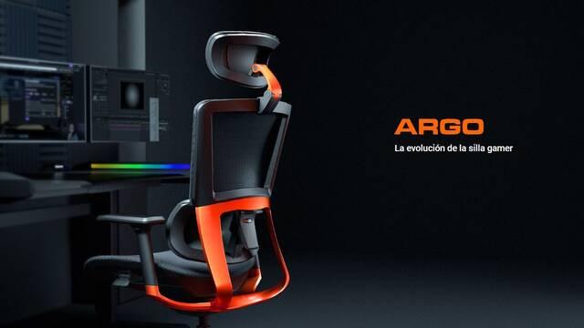 Cougar lanzará su silla para gamers Argo en España por 529,95 euros