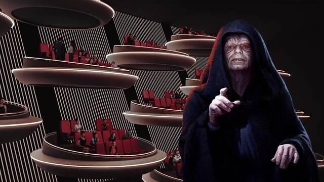 Star Wars: Un cine diseña sus butacas y asientos al estilo del Senado Galáctico