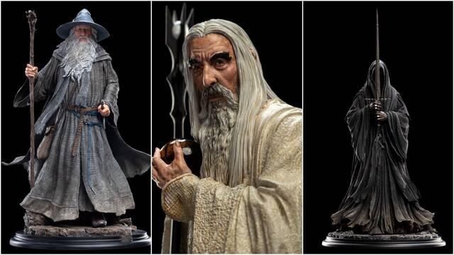 El Señor de los Anillos: Weta Workshop presenta sus nuevas figuras y estatuas