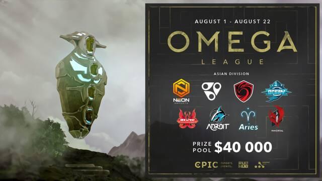 La OMEGA League de Dota 2 se amplía con una liga asiática