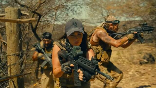 Tráiler de Rogue: La nueva película de acción protagonizada por Megan Fox