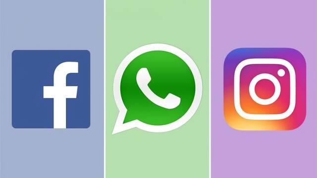 Facebook, WhatsApp e Instagram vuelven a funcionar tras una caída general en España