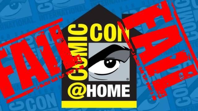 La Comic-Con en Casa es un auténtico fracaso para los organizadores