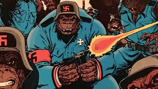 ¿El ejército más loco de DC Cómics? Las tropas de gorilas nazis