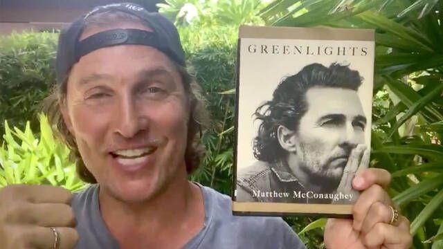 Matthew McConaughey presenta sus memorias