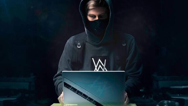 ASUS ROG colaborará con el DJ Alan Walker para crear contenido de videojuegos