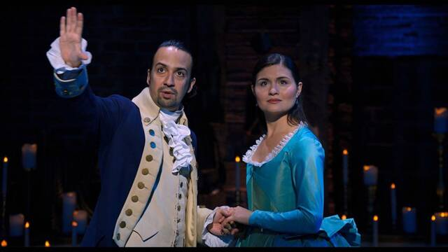 El estreno de Hamilton en Disney+ aumentó las descargas de la app en USA