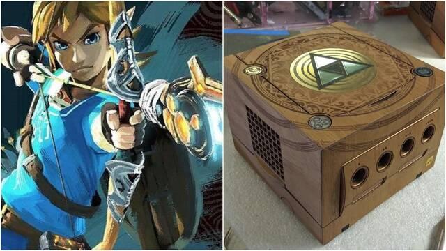 Así es la impresionante GameCube de The Legend of Zelda creada por un fan