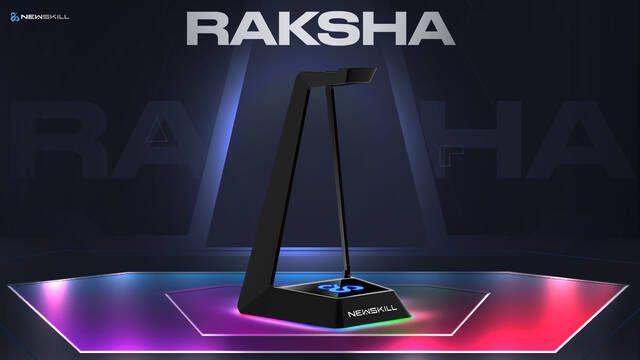 Newskill presenta Raksha, su nuevo soporte para auriculares con iluminación RGB