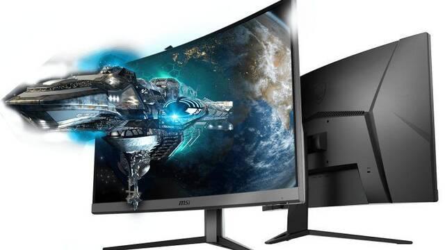 """MSI Optix G32CQ4 es el nuevo panel curvo de 31,5"""" con 1440p y 165 Hz"""