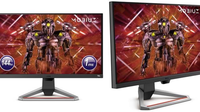 BenQ presenta sus nuevos monitores para jugar Full HD y con 144 Hz
