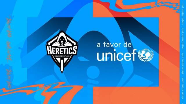 Team Heretics y UNICEF España unen fuerzas