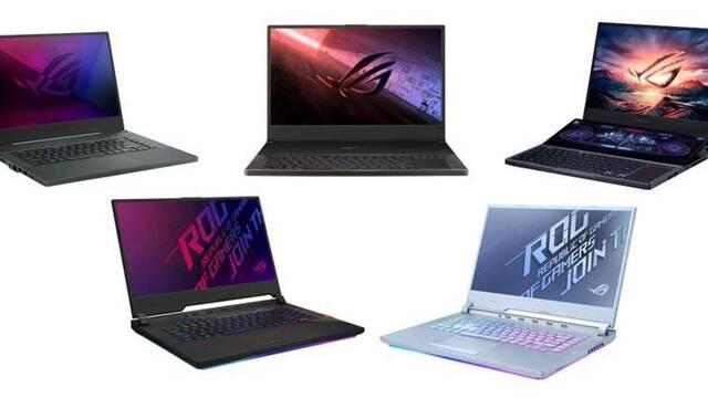 ASUS ROG manda en el mercado de los portátiles para jugar con un 22,6 % de cuota de mercado