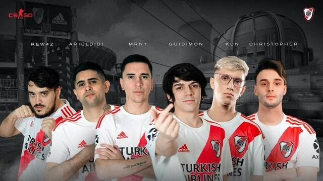River Plate amplía su sección de esports y entra en CS:GO