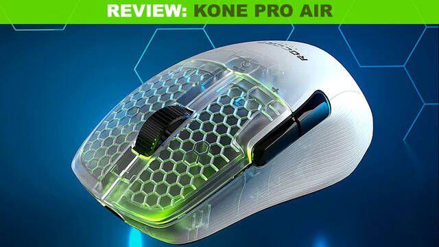 Roccat Kone Pro Air, un ratón inalámbrico, ligero y con gran autonomía