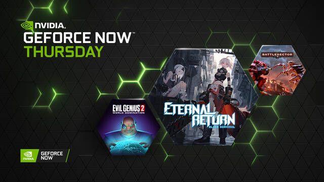 GeForce Now estrenará en julio 36 nuevos juegos compatibles