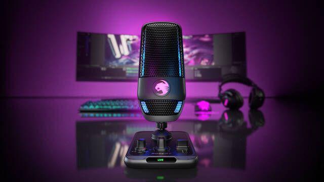 Roccat presenta el nuevo micrófono Torch para jugadores y streamers
