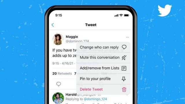 Twitter nos dejará controlar quién puede responder a un tuit una vez lo hayamos publicado