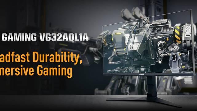 ASUS anuncia el completo monitor TUF Gaming VG32AQL1A, 32 pulgadas, 1440p y 170 Hz