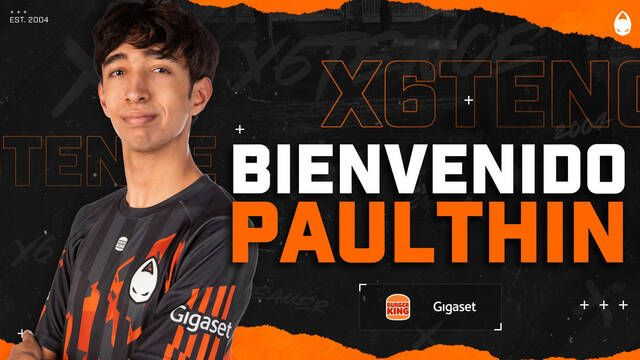 x6tence anuncia la incorporación de PaulThin, el conocido cantautor y streamer