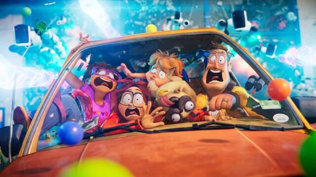 Los Mitchell contra las máquinas triunfa en Netflix como la película animada más vista