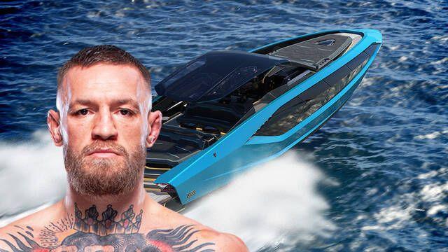 Conor McGregor se compra un lujoso yate deportivo Lamborghini de 3 millones de euros