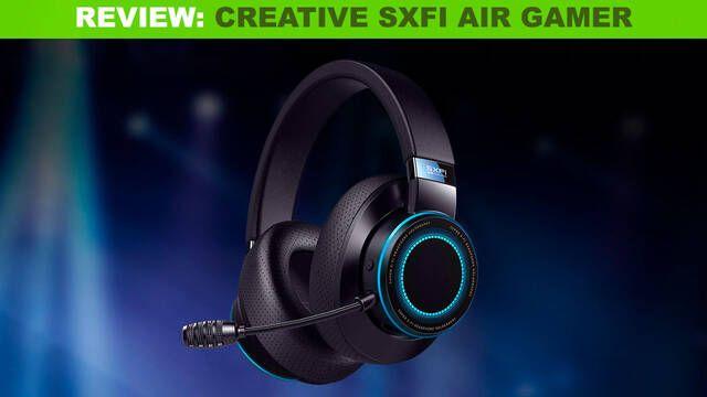 Creative SXFI Air Gamer, la versión mejorada de uno de los mejores auriculares para jugar