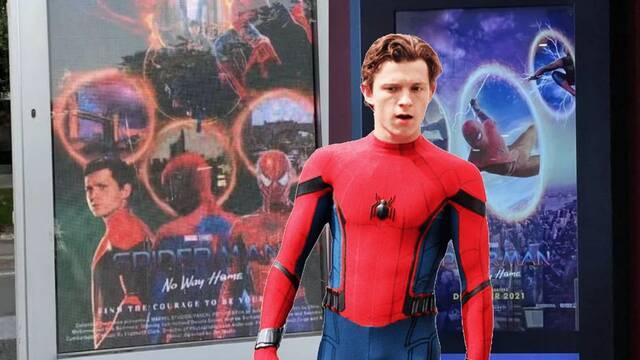 Spider-Man: Sin camino a casa utiliza pósters creados por los fans en los cines