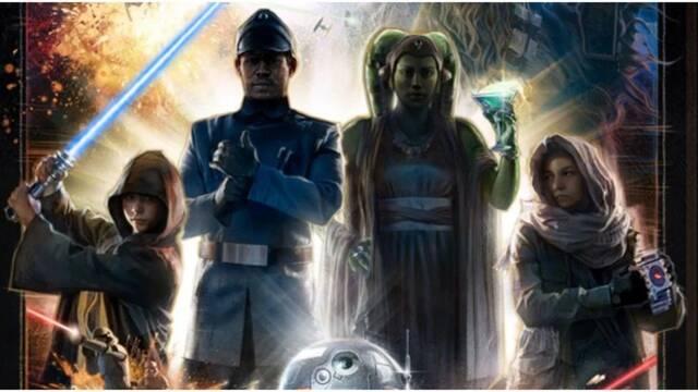 Star Wars: Galactic Starcruiser presenta un póster cargado de detalles