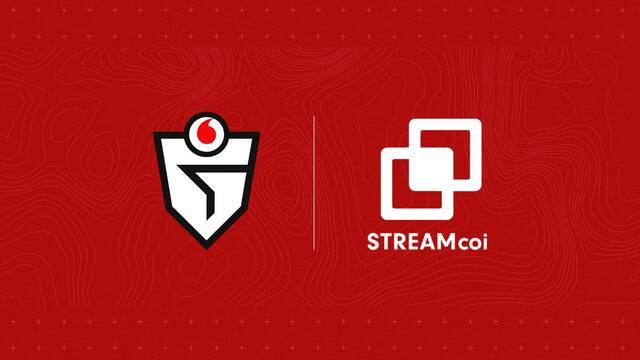 Vodafone Giants une fuerzas con Streamcoi para crecer 'a lo gigante' en Twitch