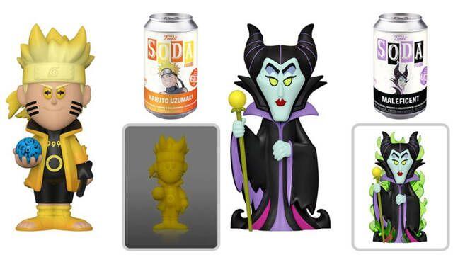 Así son los nuevos Funko Soda de Naruto, Marvel, Disney, Sword Art Online y mucho más