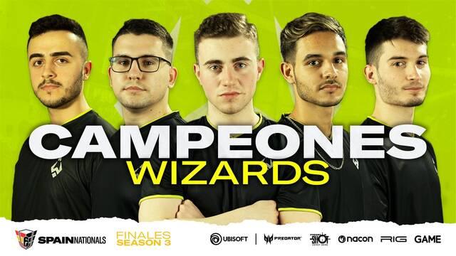 Wizards se alza con el campeonato de España R6 Spain Nationas de Rainbow Six Siege