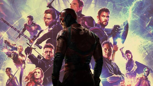 Vengadores y cómo Daredevil terminó siendo uno de los más poderosos
