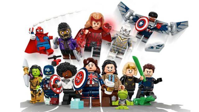 LEGO revela nuevas figuras inspiradas en los personajes de la Fase 4 del Universo Marvel