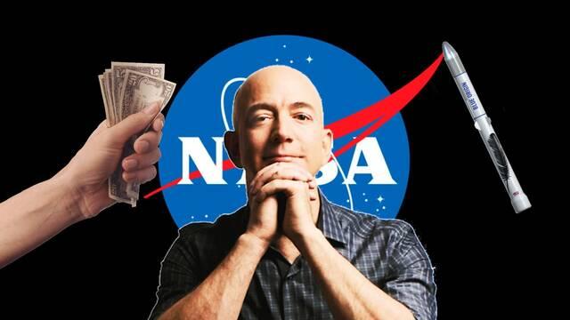 Jeff Bezos ofrece 2.000 millones de dólares para que la NASA elija a Blue Origin