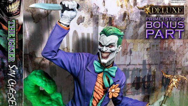 Así es Say Cheese, la nueva figura de Joker echándose un selfie sobre Robin