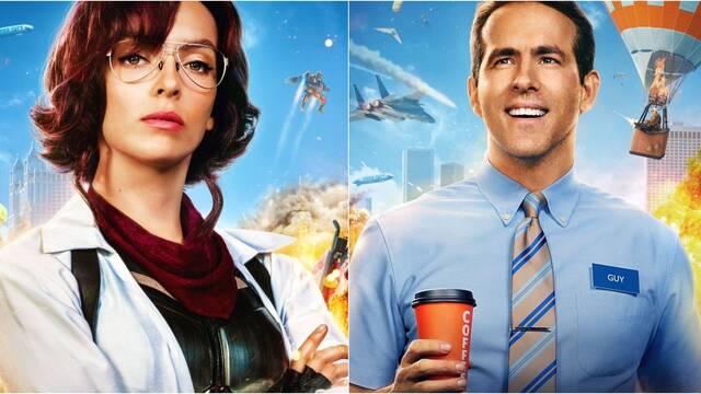 Free Guy: Aquí están los pósters de los personajes de la nueva comedia de Ryan Reynolds