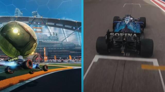 La escudería Williams de F1 da otro paso en los esports entrando en Rocket League