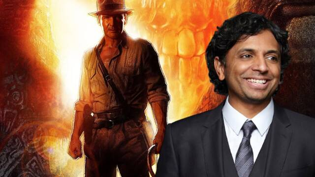 M. Night Shyamalan colaboró con ideas en el guion de Indiana Jones 4