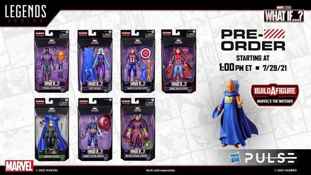 Marvel: Así son las figuras de acción dedicadas a What if...?