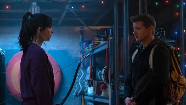 Ojo de Halcón: Primera foto de Clint Barton y Kate Bishop; estreno en noviembre en Disney+