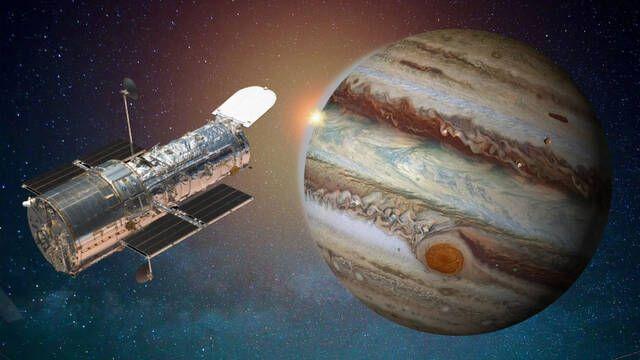 El telescopio espacial Hubble detecta evidencias de vapor de agua en la luna de Júpiter