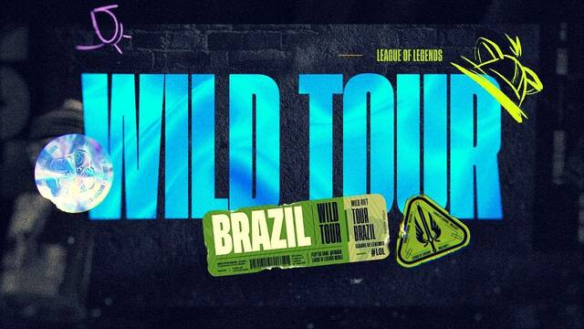 Riot anuncia un circuito competitivo de League of Legends: Wild Rift en Brasil