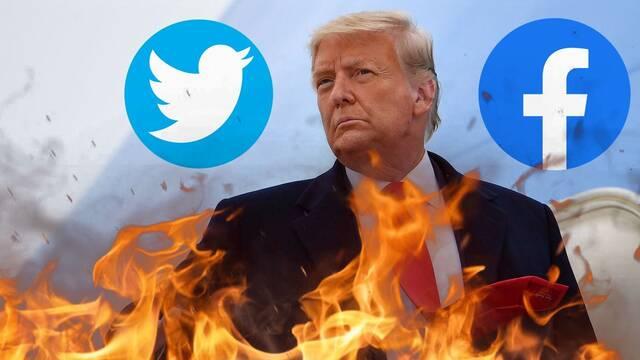 Donald Trump contraataca: Denunciará a Facebook y Twitter por 'censurarlo'