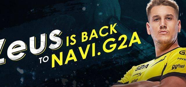 Natus Vincere da el bombazo repescando a Zeus para su equipo de CS:GO