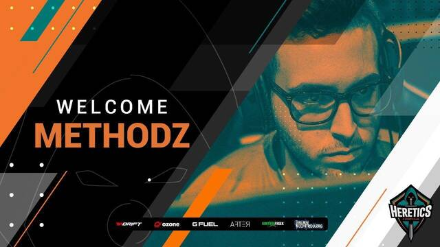 Team Heretics ficha a MethodZ de cara a la nueva temporada de Call of Duty