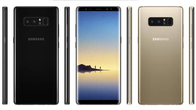 Filtradas nuevas imágenes del Galaxy Note 8