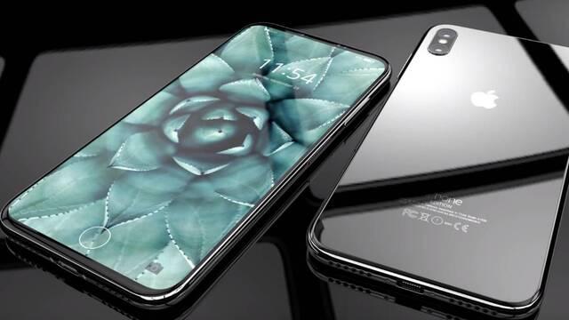 """iPhone 8: Sin botón Home, desbloqueo con doble pulsación y """"detección de atención"""""""