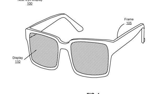 Facebook patenta sus gafas de realidad aumentada