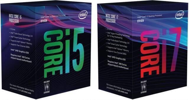 Los procesadores Coffee Lake de Intel necesitarán una nueva placa base